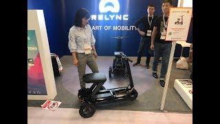 Новинка 2019! Складной электроскутер Relync R1 - новый вид транспортного средства. Гонконг 04.2018