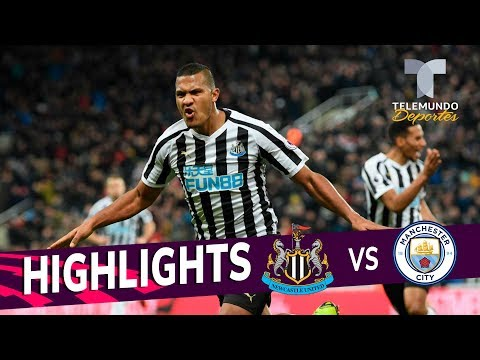 Newcastle vs. Manchester City: 2-1 Goals & Highlights | Premier League | Telemundo Deportes