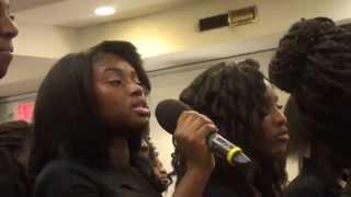 "North Bronx Ghana SDA Youth Choir Singing ""ano ntumi nka"""