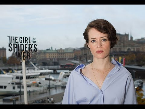 "Claire Foy on playing Lisbeth Salander: ""Swedish people speak better English than I do"""