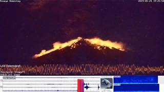 May 24, 2019 ~ Mount Agung, Bali, Indonesia ~ Real-Time Eruption ~ VolcanoYT