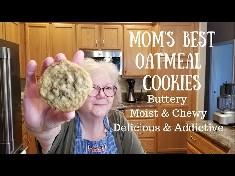 Mom's Best Moist and Chewy Oatmeal Cookies - Jill 4 Today