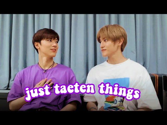 just taeten things