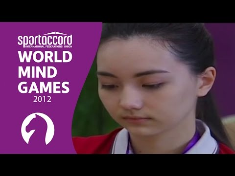 Highlights from the first day of the 2012 World Mind Games