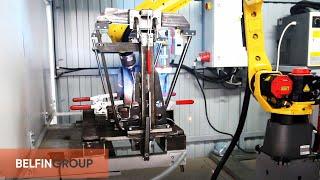 Робот для сварки каркасов офисных стульев(, 2015-05-24T12:26:25.000Z)