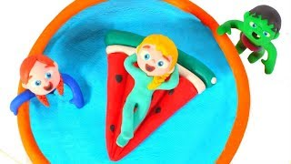 Kids New Water Melon Floating Toy ❤ Cartoons For Kids