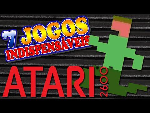 Atari 2600 - 7 Jogos Indispensáveis