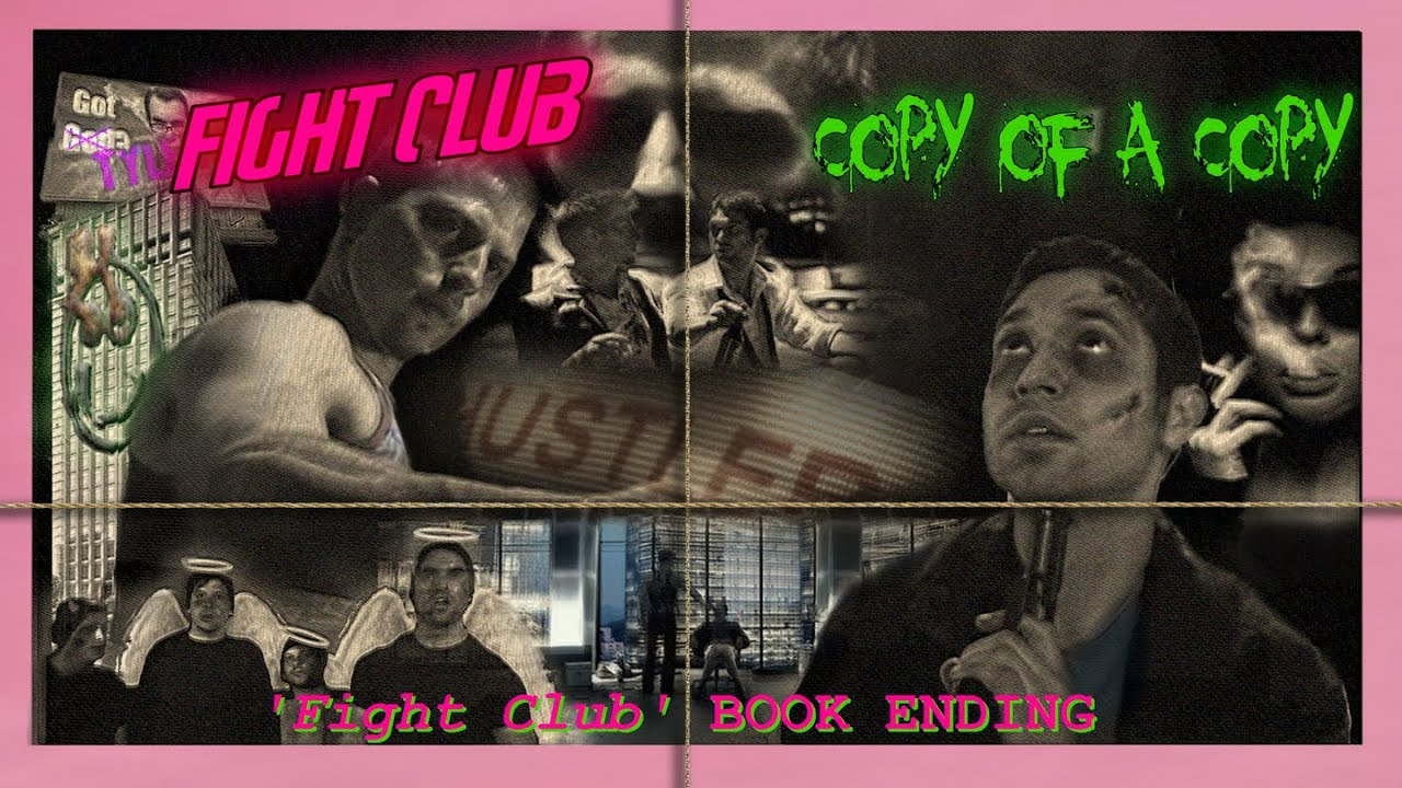 fight club book ending fight club copy of a copy