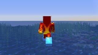 Walking on Water Glitch in Minecraft 1.13