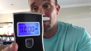 VicTec Portable Digital Breath Alcohol Tester Breathalyzer Review