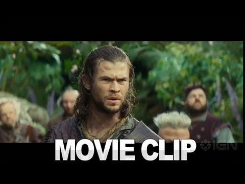 Snow White And The Huntsman - Dwarves And The Enchanted Forest Clip