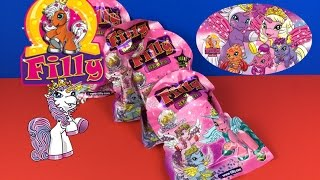 Filly Pony Surprise Bag Blind Bags Toys for Kids unboxing funny Unicorn Figures
