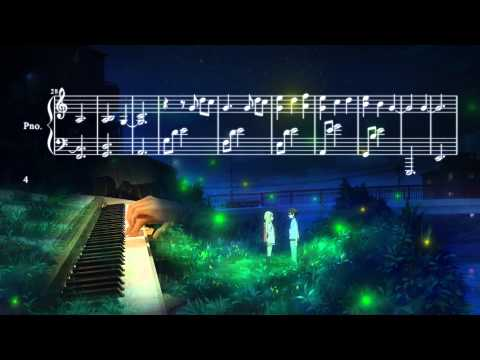 Your Lie in April - Watashi no Uso ~Piano Solo~ (Cover & Sheet Music)