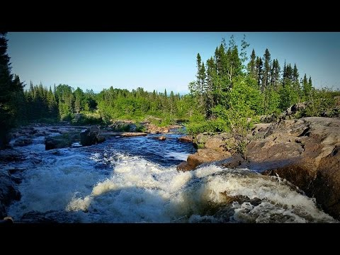 GGC - 11 - The St. Lawrence River And Roadside Waterfall