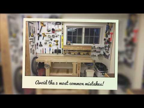 small woodworking shop ideas - how to setup a workshop in a garage