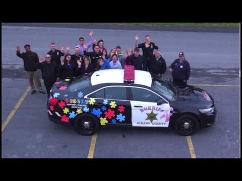 Albany County Sheriff's Autism Awareness Event