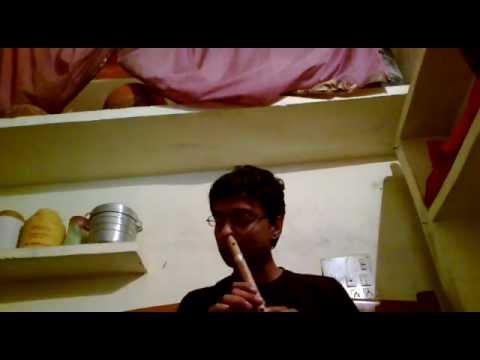 kahin to hogi wo(flute by nose)