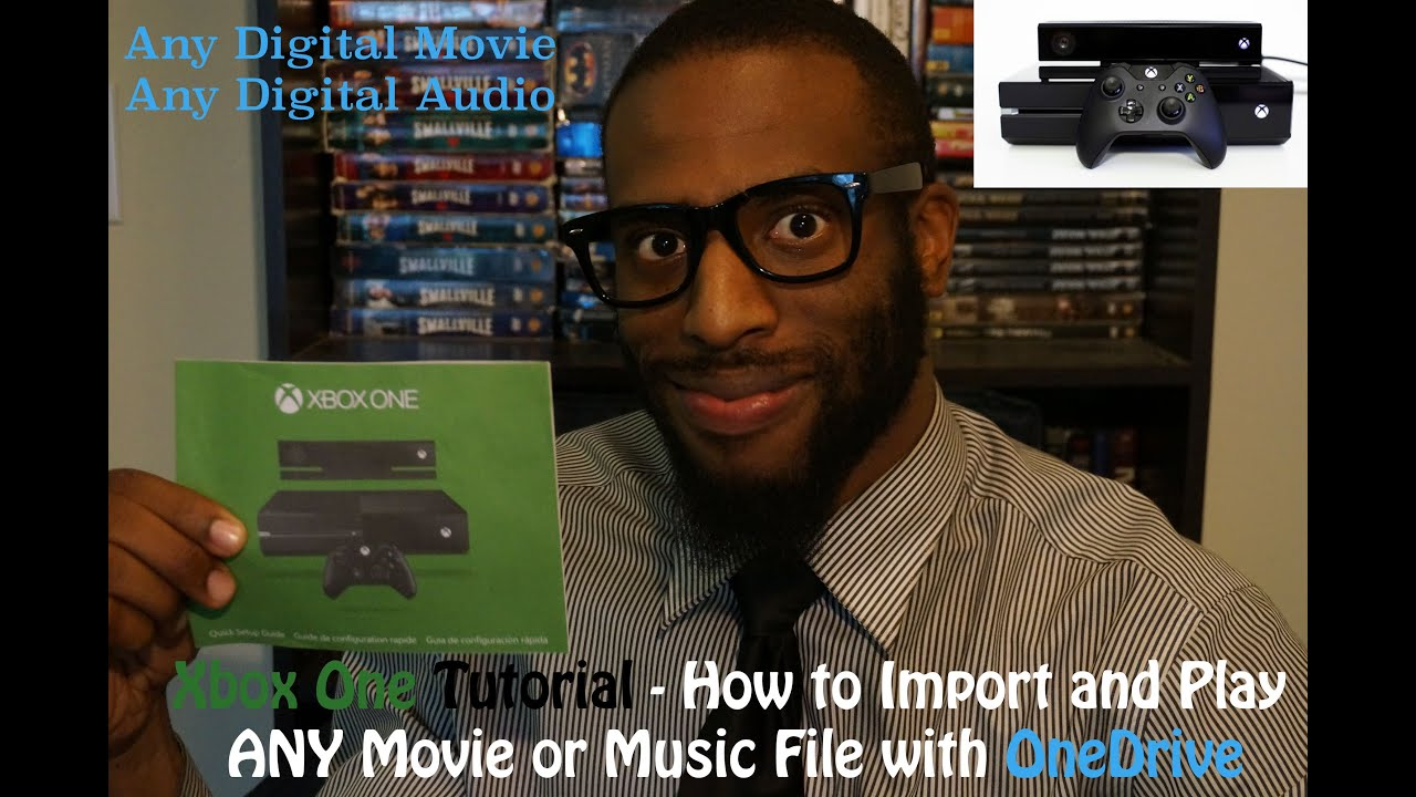 how to watch movies from nas on xbox one