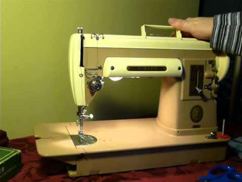 NIFTYTHRIFTYGIRL Vintage Singer 40A 40 Slant Shank Sewing Machine Best Singer 301a Sewing Machine