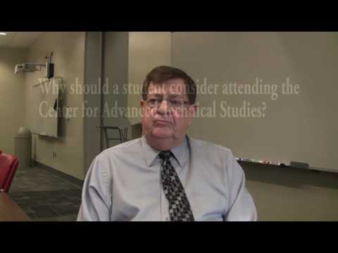 Dr. Bob Couch, Director, Center for Advanced Technical Studies