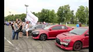 Mitsubishi Lancer X Club - клип