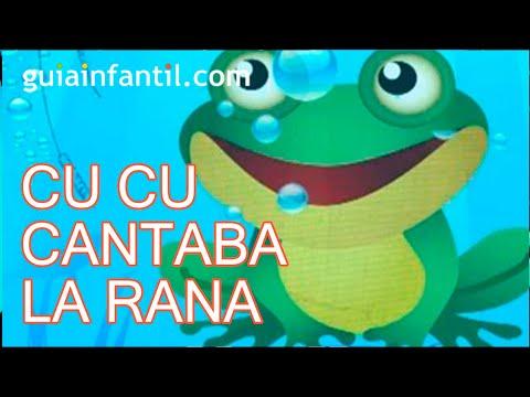 Cu cu cantaba la rana canci n infantil m sica para ni os - Para ninos infantiles ...