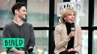 "Christine Baranski And Justin Bartha Discuss Their Show, ""The Good Fight"""