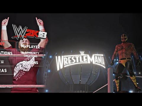 5 Main Menu Entrance Animation Mods for WWE 2K18 Main Menu (PC)