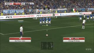 PES 2014 - England vs. Italy Gameplay [HD]