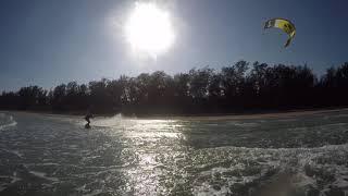 Кайтсерфинг в Тайланде город ХуаХин Kiteboarding in Thailand