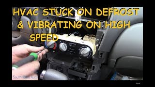 Download Nissan Sentra : Stuck On Defrost / Vibrating Heater Fan Mp3 and Videos