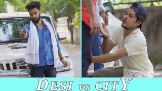 Desi People Vs City People | Dheeraj Dixit | Karamjale