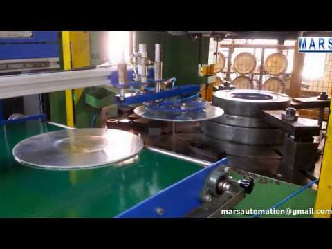 Cookware Circle Auto Feeder for Deep Drawing Press