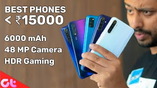 TOP 6 BEST PHONES UNDER 15000 In September 2019  | Sabse Jabardast | GT Hindi