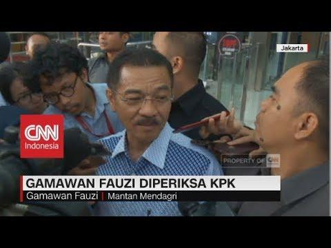 Gamawan Fauzi Diperiksa KPK Jadi Saksi Korupsi Proyek Gedung IPDN Mp3