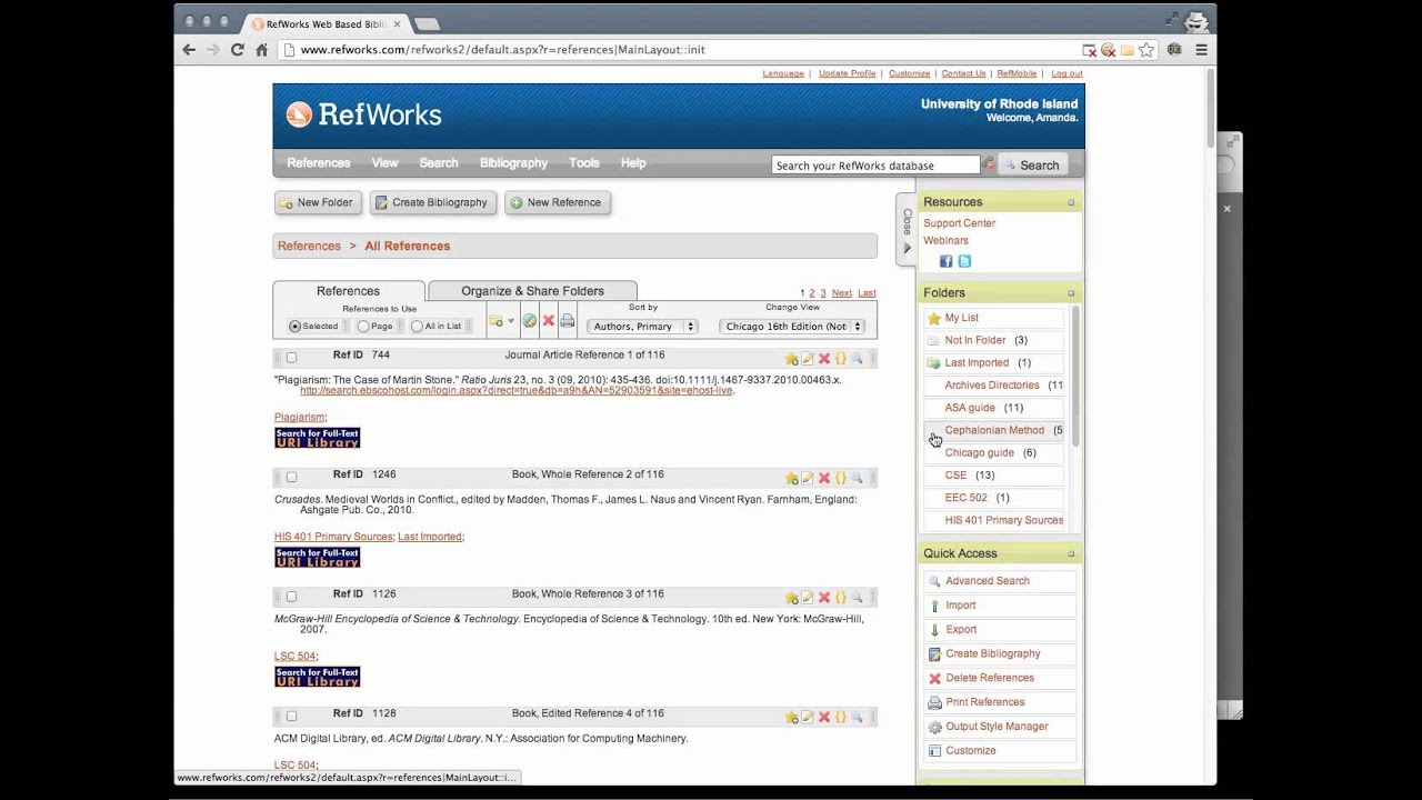 Export Citations From Refworks To Mendeley How To Cite In Asa