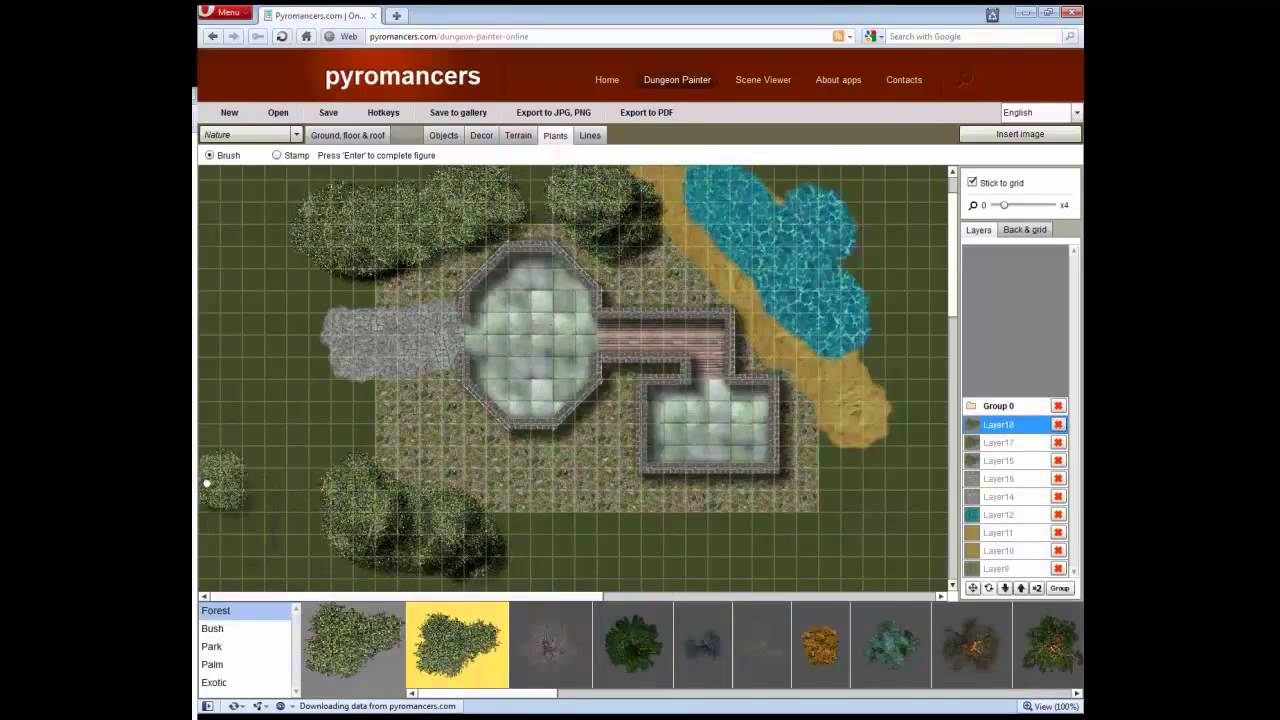 Dungeon painter online flash based encounter map design tool dungeon painter online flash based encounter map design tool pyromancers gumiabroncs Gallery