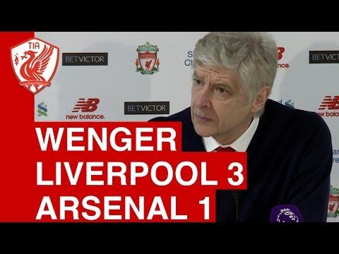 Liverpool 3-1 Arsenal: Arsene Wenger's Post-Match Press Conference