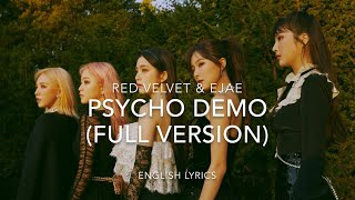 Gambar cover Red Velvet 'Psycho' DEMO (FULL VERSION) | English Lyrics