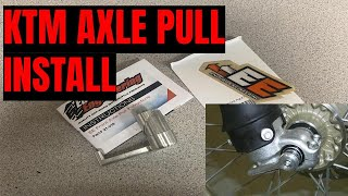 Axle Pull Install From Enduro Engineering