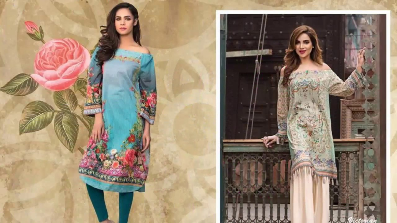 7b28fcf6c57 Limelight Unstitched Lawn S S Collection 2017 Vol 1 - YouTube