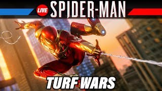 SPIDER-MAN Turf Wars DLC Gameplay German | Marvel's Spiderman PS4 Pro Live Let's Play Deutsch
