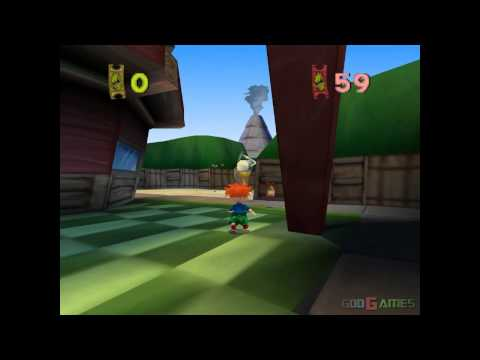Rugrats in Paris The Movie - Gameplay PSX / PS1 / PS One / HD 720P (Epsxe)