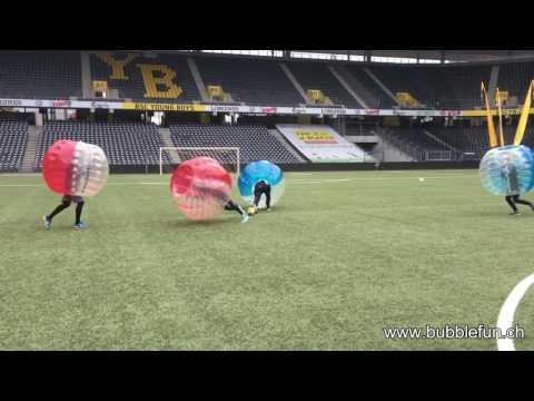 Bubble Soccer Best Hits IIC Day 2016 Stade de Suisse Bern