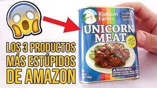 3 Inventos MUY ESTÚPIDOS y RAROS de AMAZON