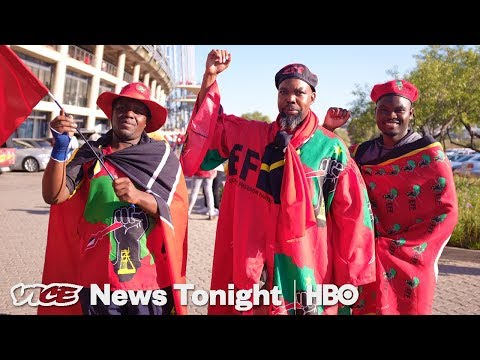 Taking Land Away From White People Is A Key Issue In South Africa's Elections (HBO)