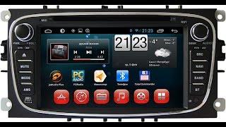 Штатное головное устройство автомагнитола android ford focus, mondeo(, 2014-08-20T12:17:27.000Z)