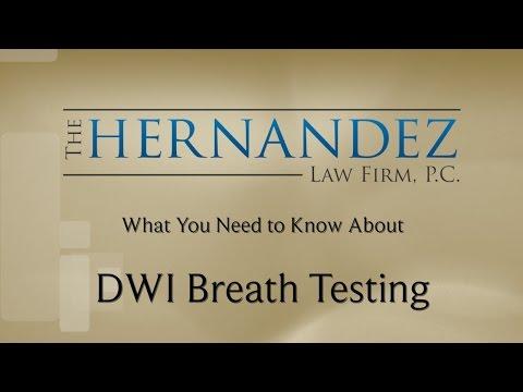 DWI Breath Testing