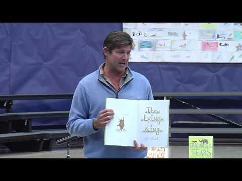 Author Alex Beard - Maybeury Elementary School