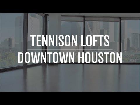 Tour Of Tennison Lofts Downtown Houston